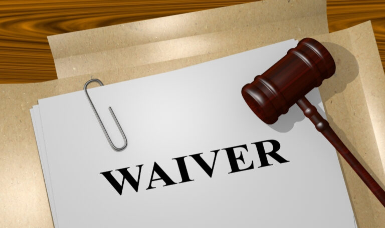 Fee Waiver application